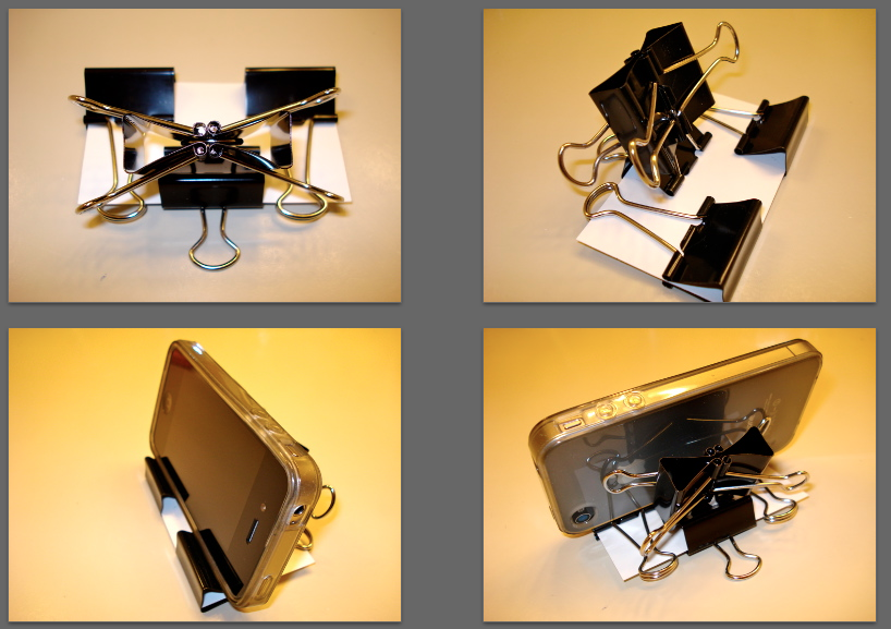 Make Your Own Smartphone Stand! (2 Versions) | vinduhl's foggy mess